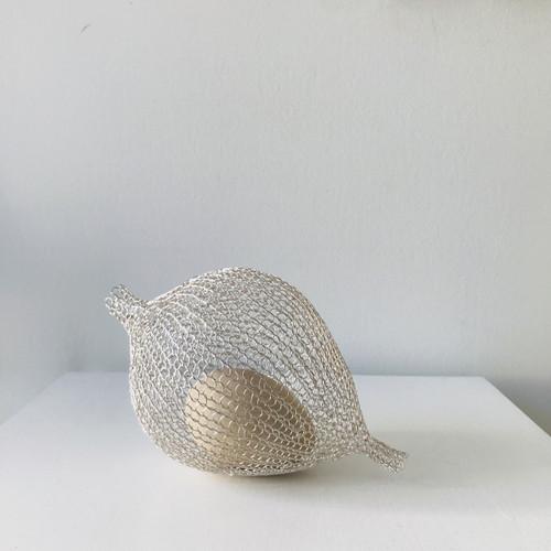 Nested Egg; Silver I by Nettie Sumner - SUN.004