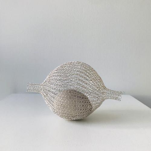 Nested Egg; Silver II by Nettie Sumner - SUN.005