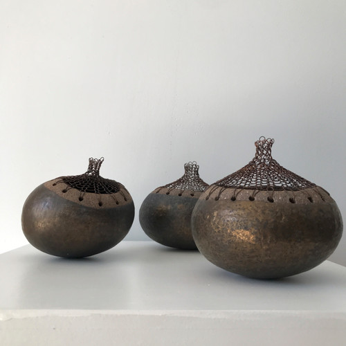 Squash Pot, III by Nettie Sumner - SUN.009