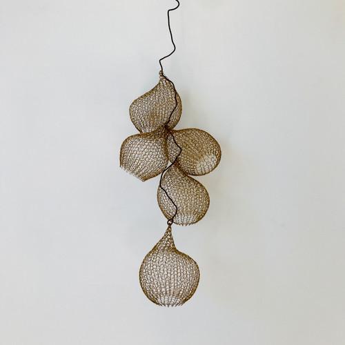 Cocoons, Bronze, Set of 5 by Nettie Sumner - SUN.027
