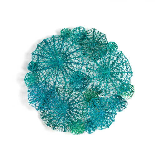 Aqua Discosoma by Meredith Woolnough - WOM.012
