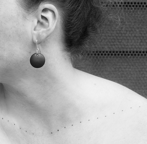 Slate Goh Counter Earrings by Tracy Hopkirk - HOT.020