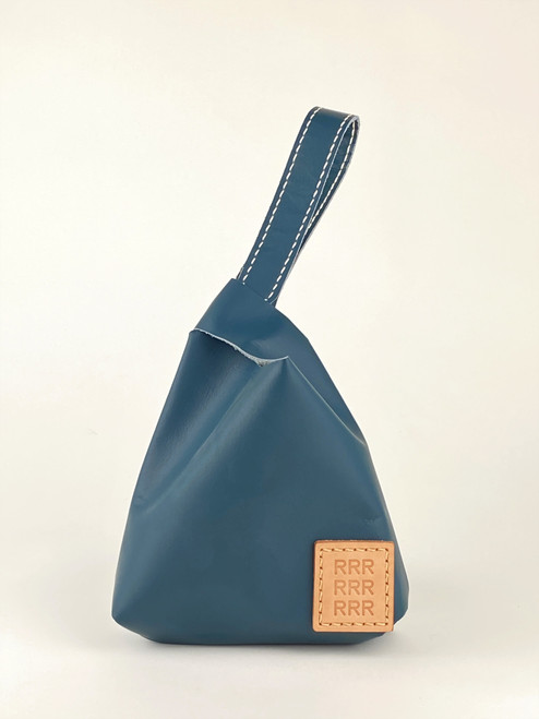 Ali Wrist Bag Teal Blue by 9R - STK.009