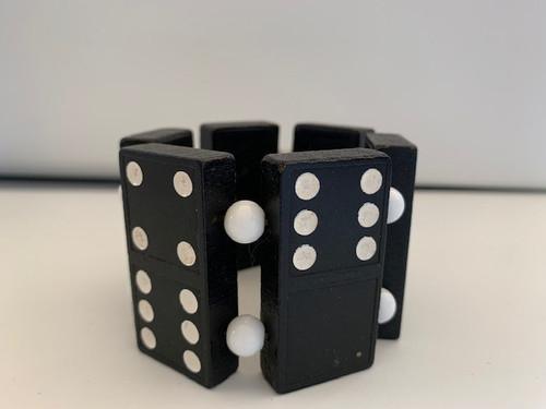 Domino Bracelet B/W 2 by Susie Barnes - BAS.114