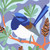 Cheerful Wren Art Print by Outer Island