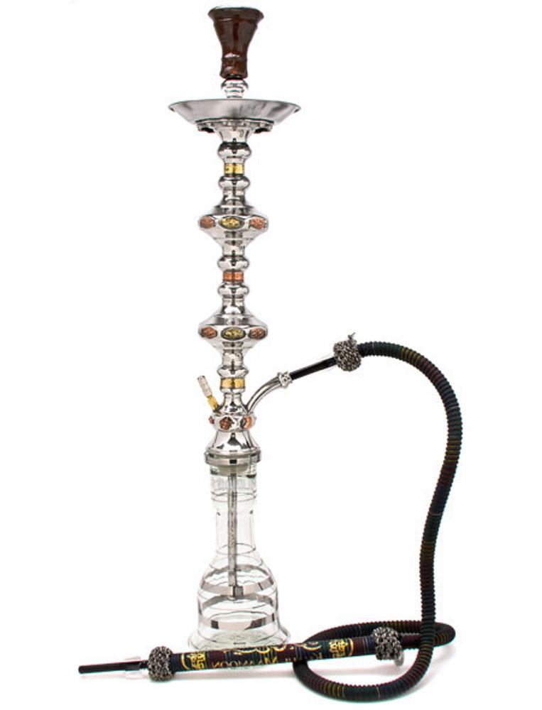 Khalil Mamoon 1001 Nights Double Decker shisha smoking pipe hookah