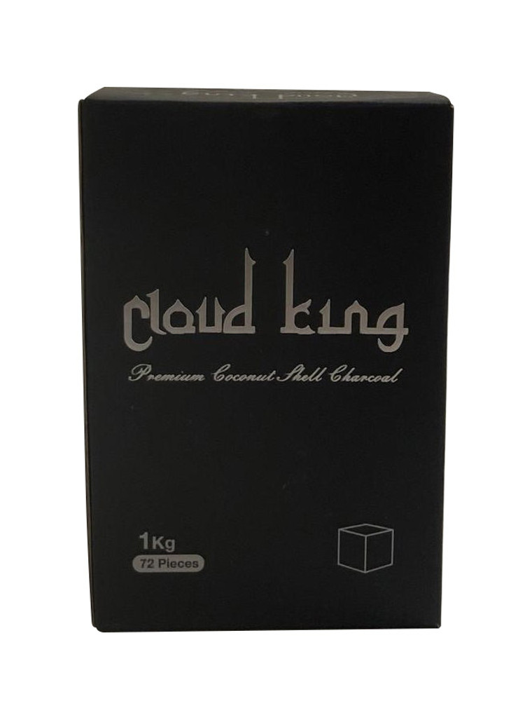 MOB Cloud King Coconut Charcoal (72 Pieces -Cube)
