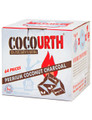 CocoUrth Organic Coconut Charcoal (64 Pieces - Large Cube)