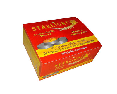 33 mm Instant Light Starlight Charcoal Tablets