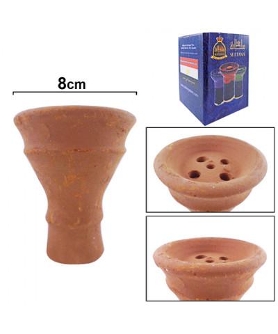 Sultana Non-Glazed Medium Clay Bowl