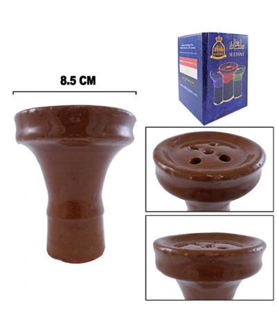 Sultana Glazed Flat Clay Bowl