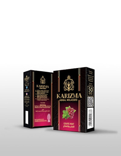 Half Dozen of Karizma Herbal Molasse (50 Grams)