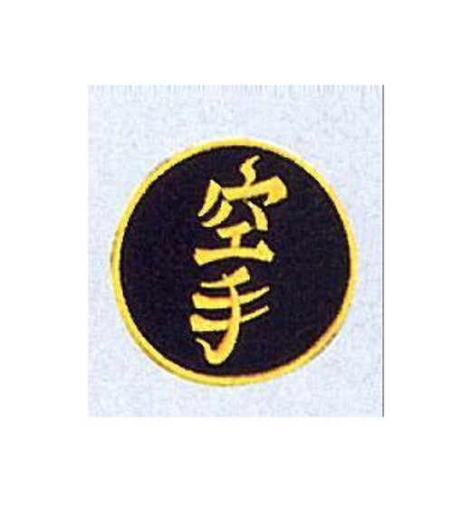 Patch KARATE BLACK/GOLD