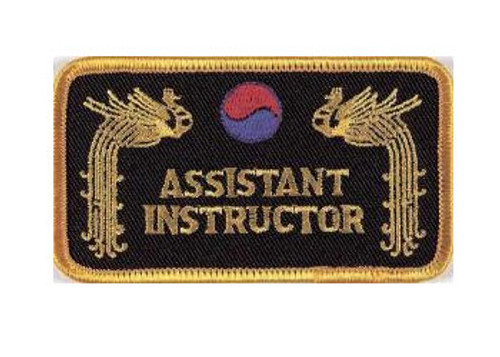 Patch ASSISTANT INSTRUCTOR