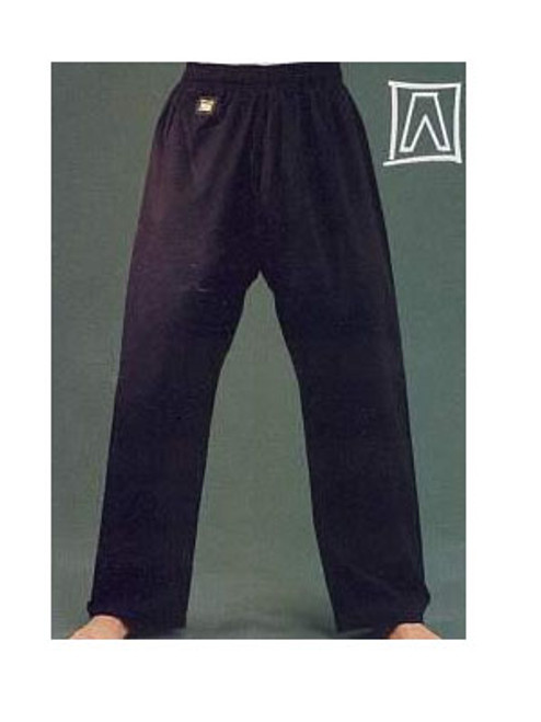 BLACK COTTON  Karate Gi Pants 12oz