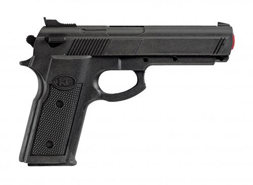 Rubber gun for martial arts practice