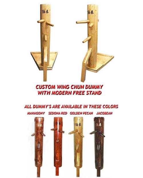 Wing Chun Wooden Dummy, Freestanding (Mook Joong)