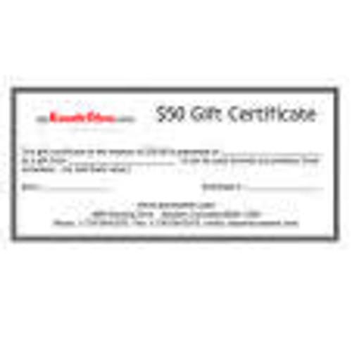$10 Gift Certificate to myKarateStore.com