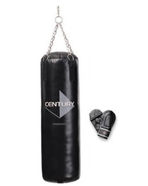 100lb Vinyl Heavy Training Bag with FREE Bag Gloves