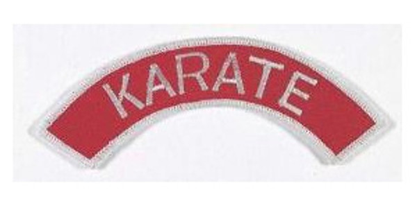 Patch KARATE, ENGLISH