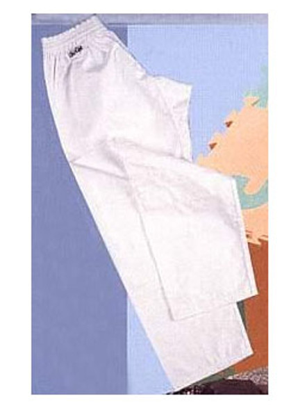 WHITE COTTON  Karate Gi Pants 8oz