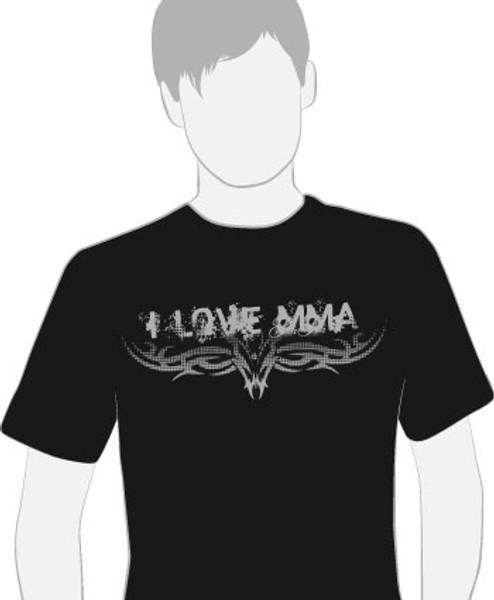 T-shirt - I Love MMA