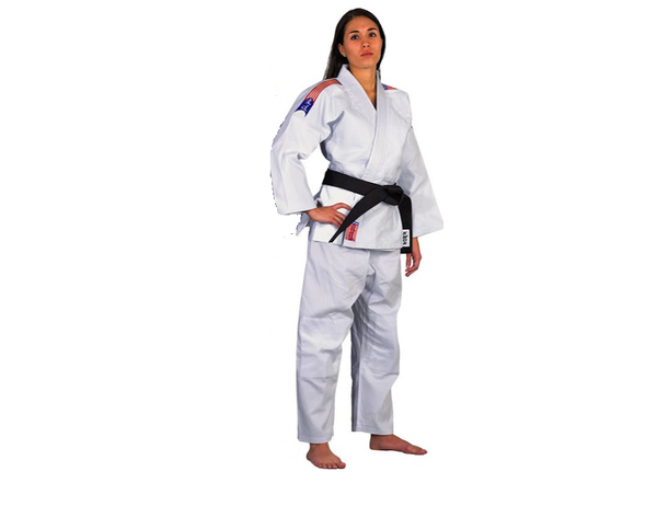 CHALLENGER White Judo gi-uniform