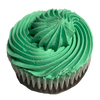 Our seasonal cupcakes for March are ready for pre-orders.   Celebrate St. Patricks Day with our chocolate cupcake topped with green peppermint icing.