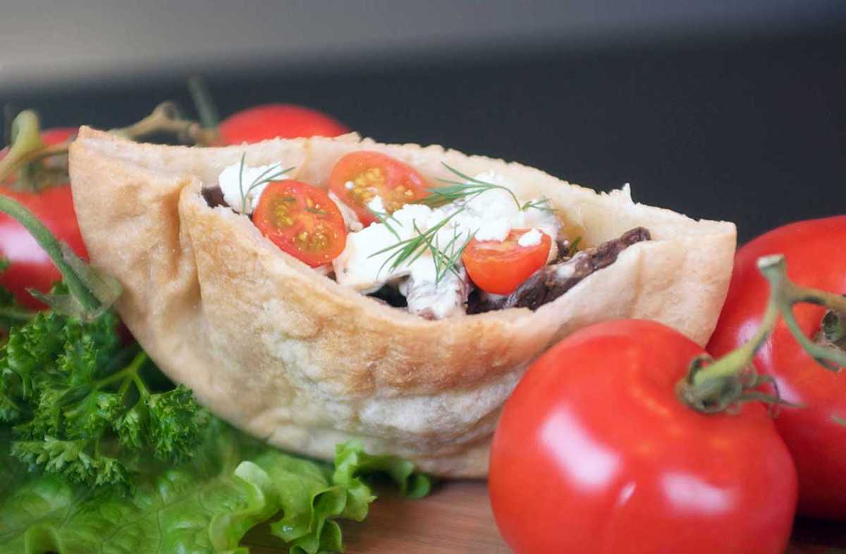 Pita bread for celiacs.  Made in our dedicated gluten-free bakery in Arvada, CO.   We are a bakery that ships.  Shipping available via FedEx Ground to all lower 48 states.