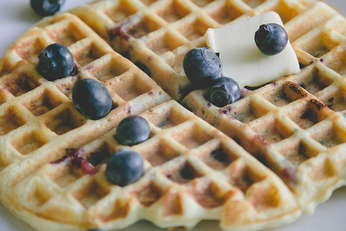 Gluten-free vegan waffle and pancake flour mix is full of flavor, formulated in a dedicated gluten-free bakery in Arvada CO and available to ship in all lower 48 states.