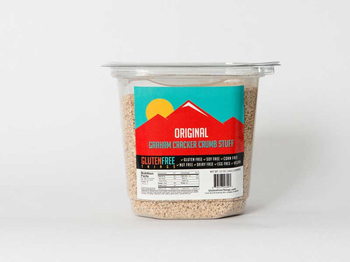 Gluten Free Things Premium Graham Cracker Crumbs - Original Flavor