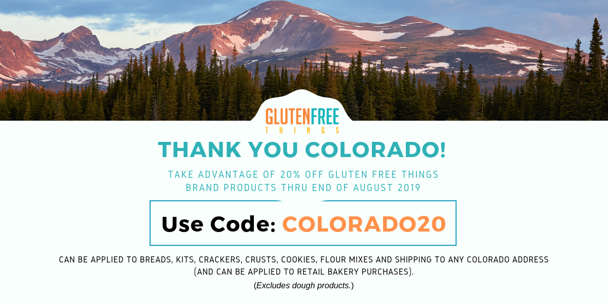 Coupon Code for Colorado Shipments