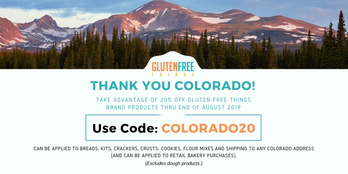 Coupon Code for Colorado Shipments