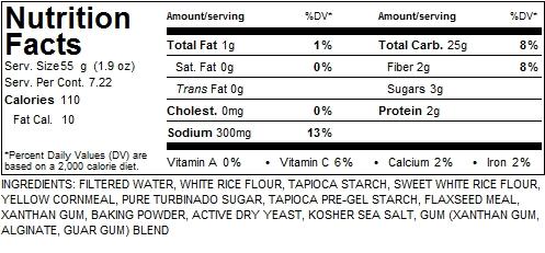 Premium gluten-free vegan English Muffins - 4pk