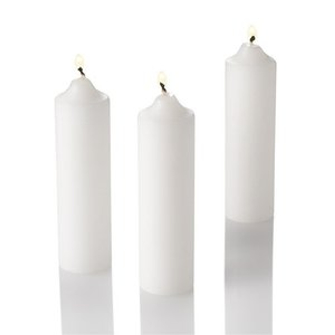 White Cartridge Candle Lamp Candle - Emergency Candles (200 pcs per case)