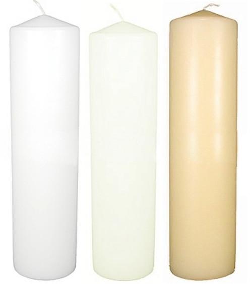 Round Pillar 2 X 4.5 White