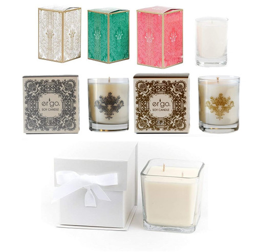 Er Go Luxuriously Scented Candle Soy Candle Pearl Collection By Ergo Soy Candle D Light Online