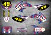 Honda CRF 80 2004 2005 2006 2007 2008 2009 2010 2011 2012 2013 2014 2015 2016 2017 2018 2019 2020 Honda CRF 80 CRF 100 2004 2005 2006 2007 2008 2009 2010 sticker kits free shipping Australia