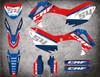 Honda crf 250 CR 250F CRF 450 CR 450F sticker kit free shipping Australia wide
