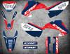 Image shows HONDA CRF 150F CRF 230F 2003 2004 2005 2006 2007 model decal kits Australia