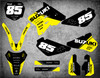 Suzuki RM 85 graphics Australia. Pro quality materials, FREE shipping on all Suzuki RM 85 decals to Australia