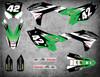 Kawasaki graphics kits Australia. Premium quality kawasaki KX KXF sticker kits. FLASH style decals. FREE SHIPPING. Australia's largest graphic supplier.