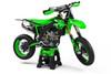 Kawasaki graphics kits Australia. Pro grade quality kawasaki KLX 110 sticker kits. WARRIOR style decals. FREE SHIPPING. Australia's largest motocross graphics supplier.