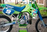 1989 Kawasaki KX250 by Hold Fast Moto.