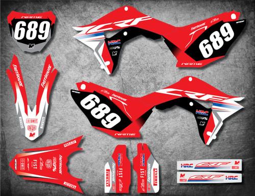 Honda CRF 70/80/100 Full Graphics Kit PRO Style