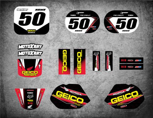QR 50 GEICO style full kit