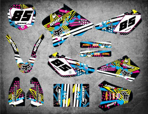 RM 85 PINNED style full kit
