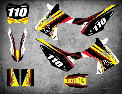 Honda CRF 110 FLOW style full kit