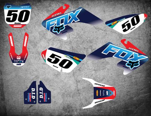 CRF 50 FOXY style full kit