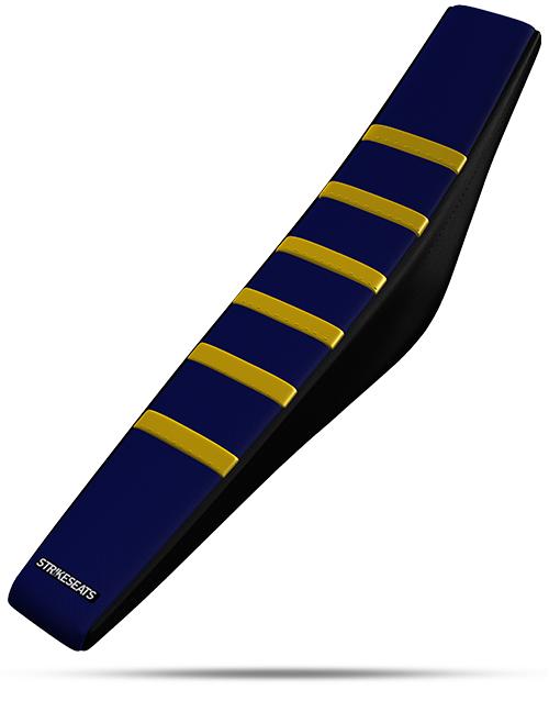 Husqvarna Gripper Ribbed - Yellow/Navy/Black